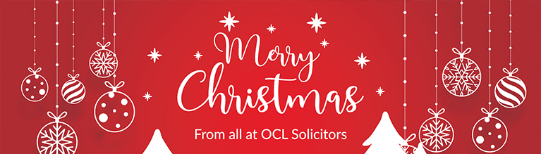 OCL Solicitors Christmas Opening Hours 2019